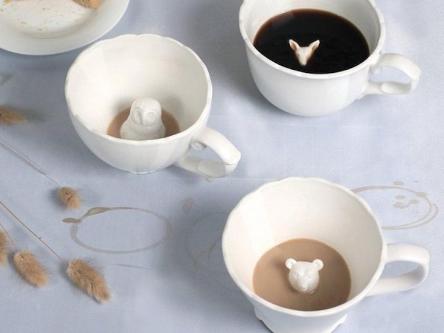 Hidden Animal Tea Cup