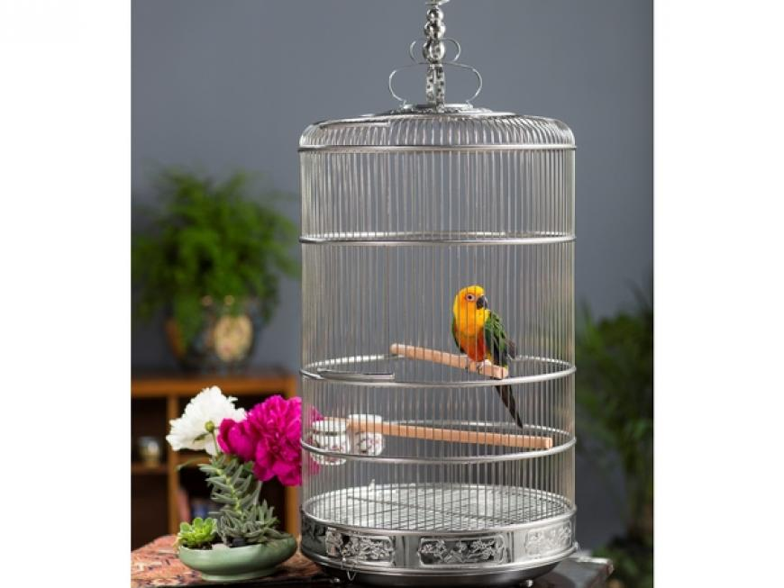 Luxury Retro Bird Cage