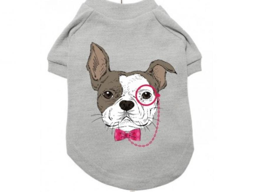 T-Shirts para cão - Design Humanimals: French Bulldog