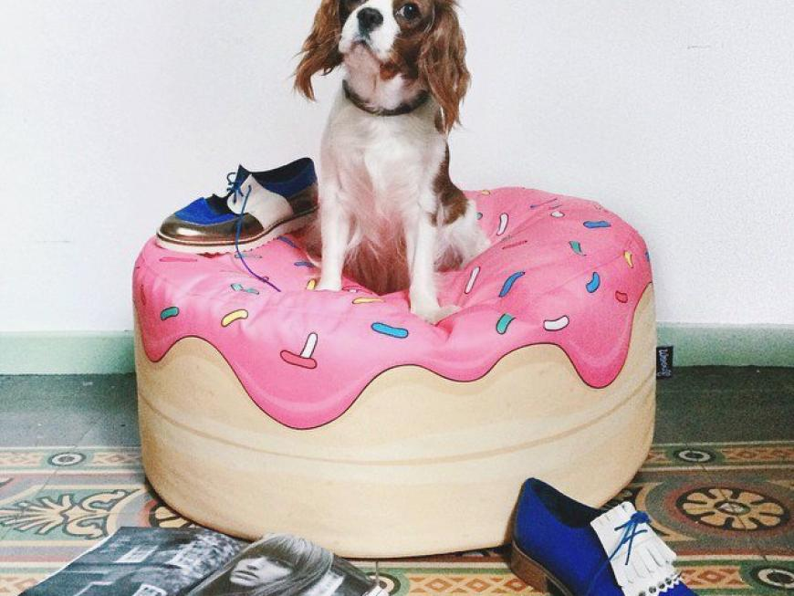 Yummy Donut Bean Bag by Woouf