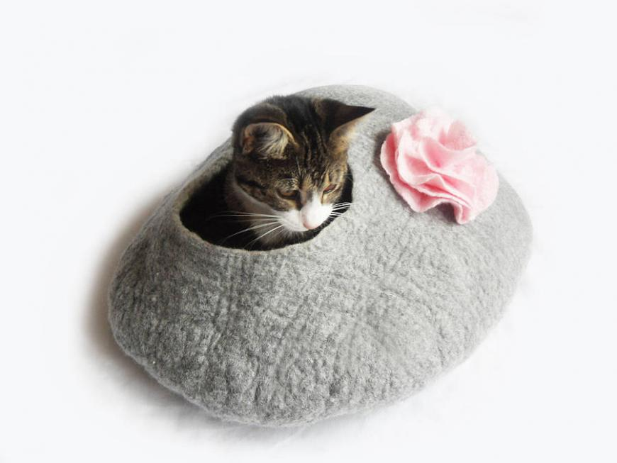 Natural Cat Pet Bed